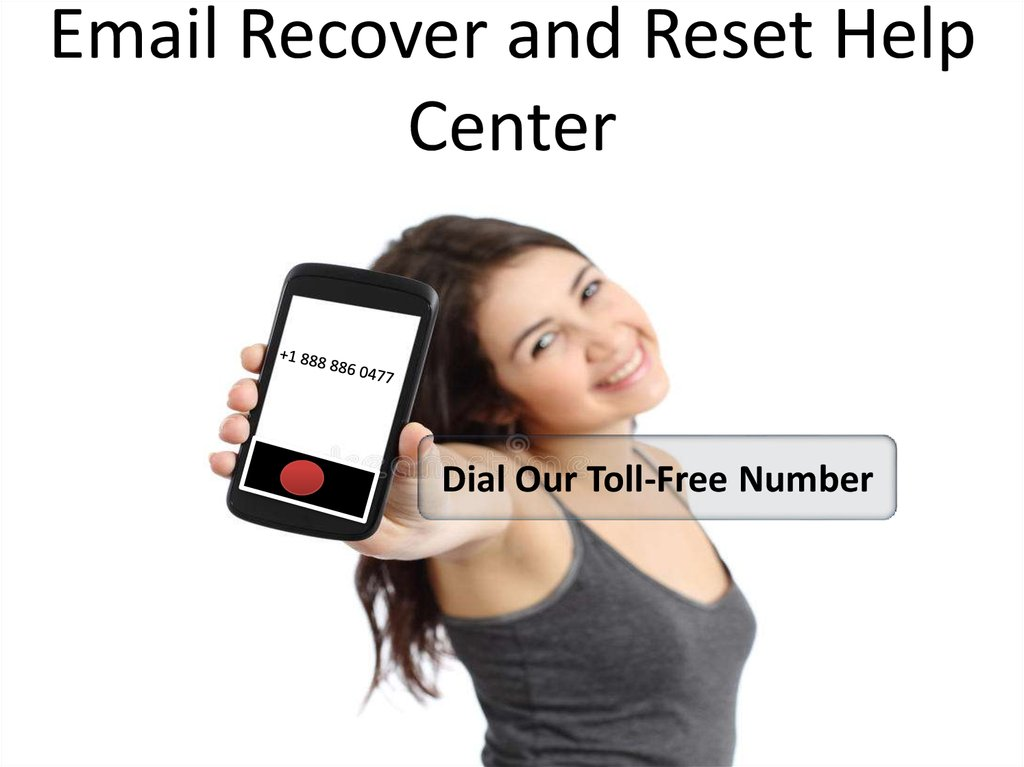 Email Recover and Reset Help Center