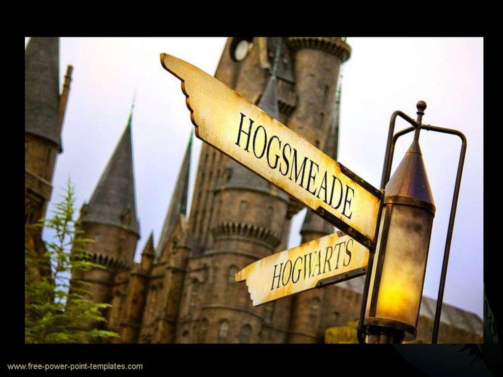 Hogsmeade Wizarding World Of Harry Potter Online Presentation