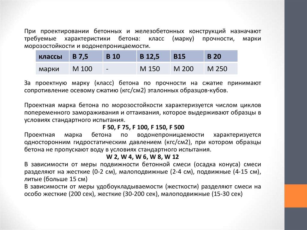 Общие сведения о бетонных смесей бетон в25 мелкозернистый