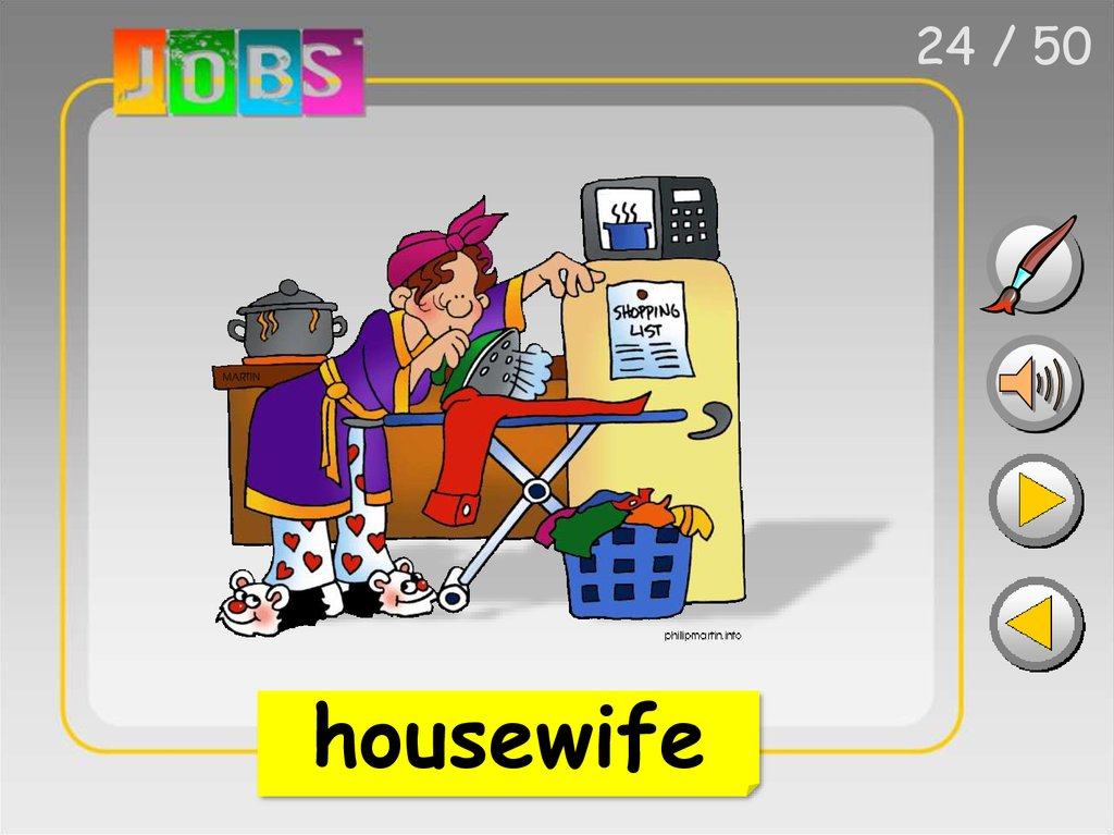 Jobs. Pictionary by herber - online presentation