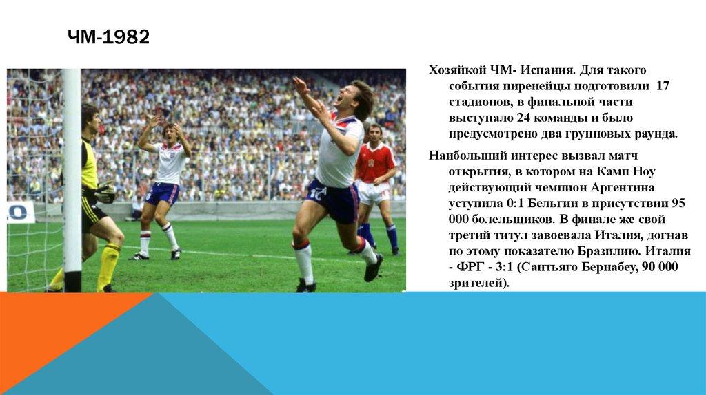 финалы чемпионатов мира по футболу