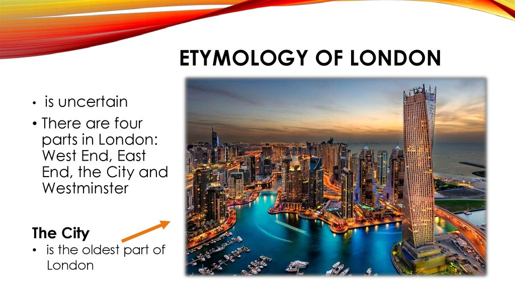 etymology of London