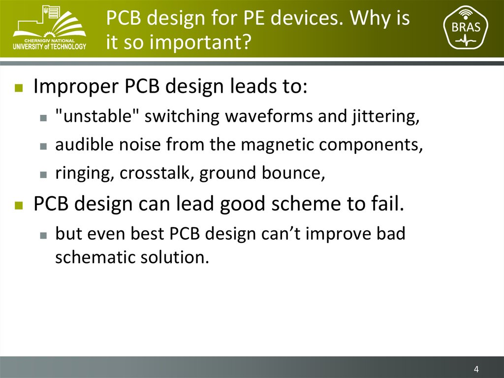 PCB design for PE devices. Why is it so important?