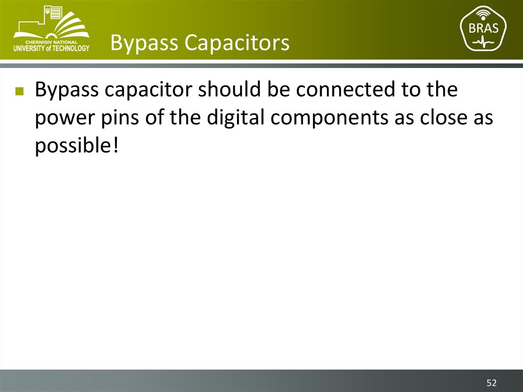 Bypass Capacitors