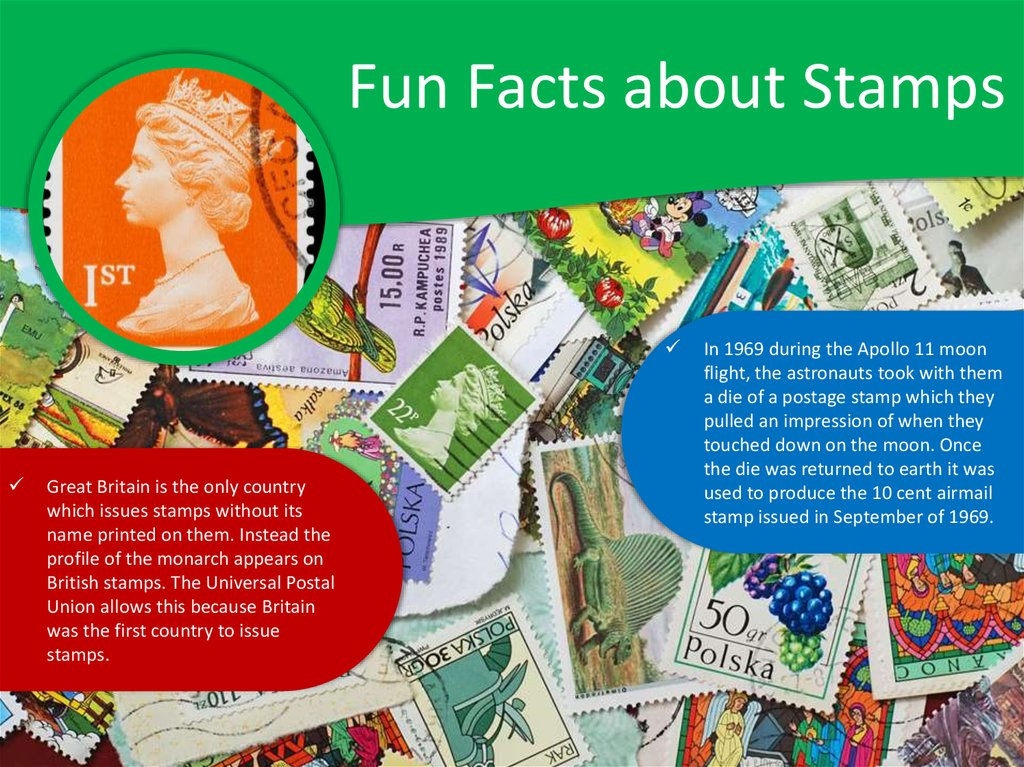 Fun Facts about Stamps