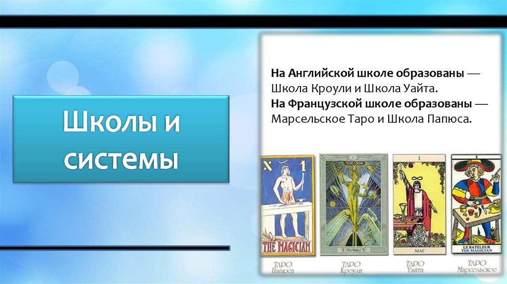 Школа веды таро расшифровка и сочетание игральных карт при гадании