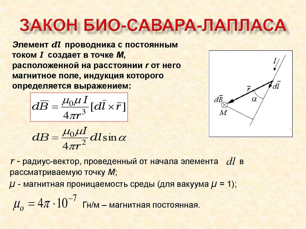 Закон био савара лапласа решение задач решить задачу о максимальном потоке