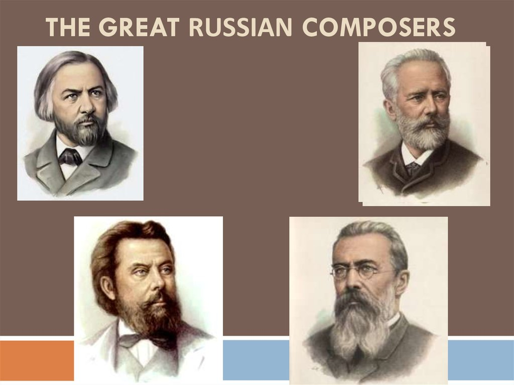 M I  Glinka – the father of Russian classical music - online