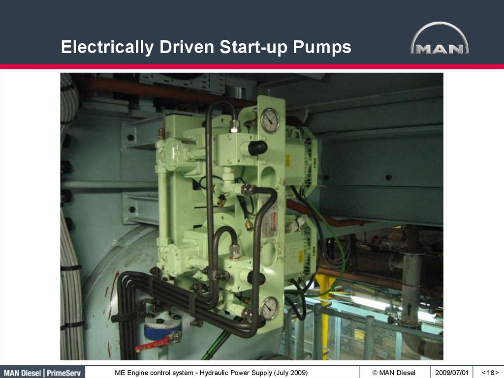 Electrically Driven Start-up Pumps