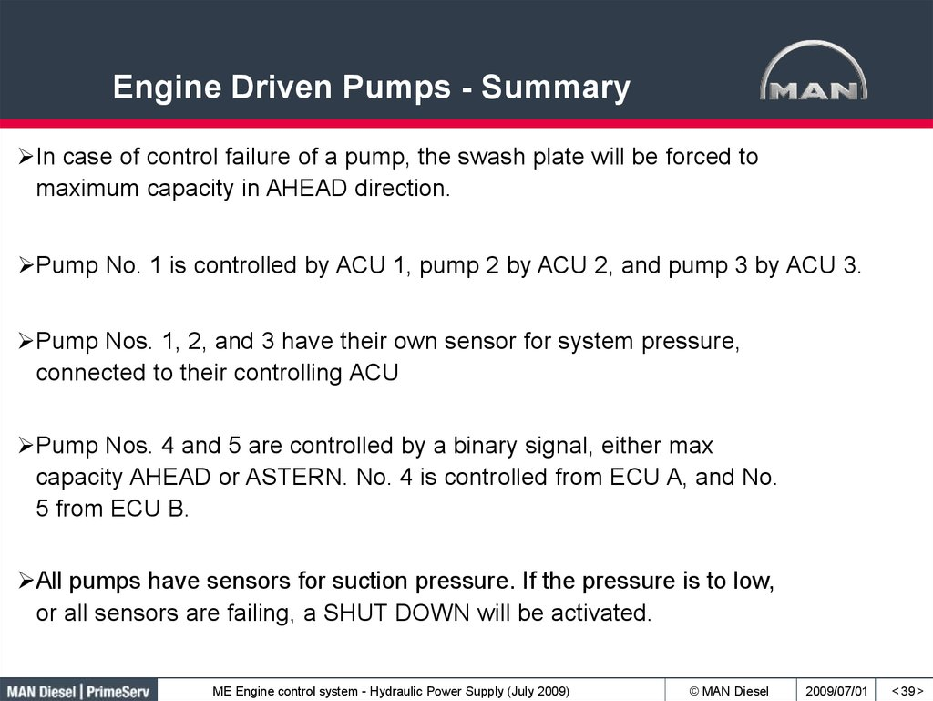 Engine Driven Pumps