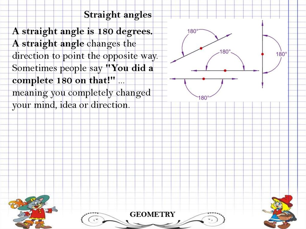 Angles  Types of angles - презентация онлайн