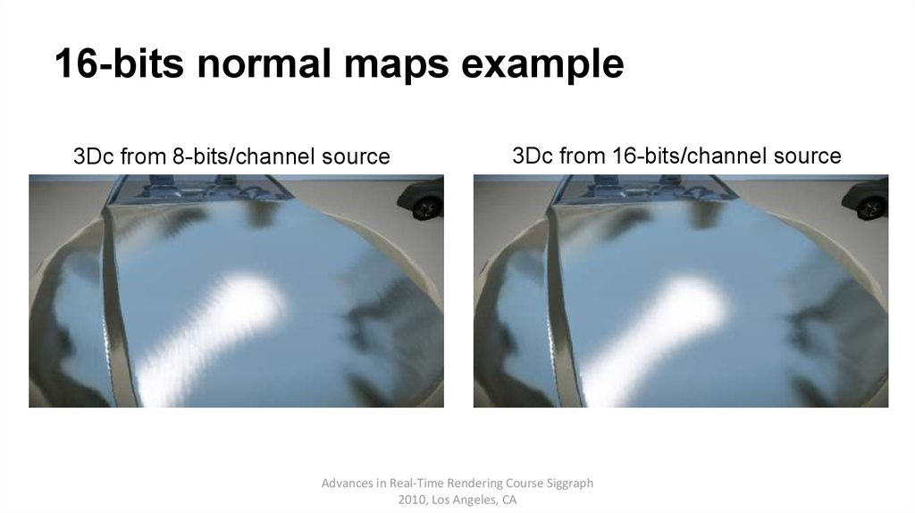 16-bits normal maps example