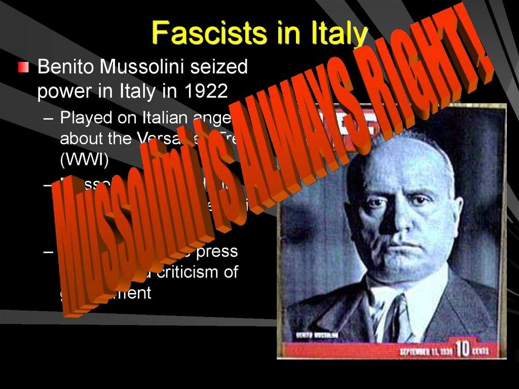 Fascists in Italy