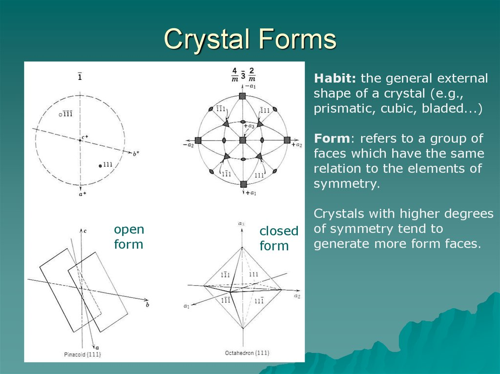 Crystallography  Part 4  Crystal Forms Twinning