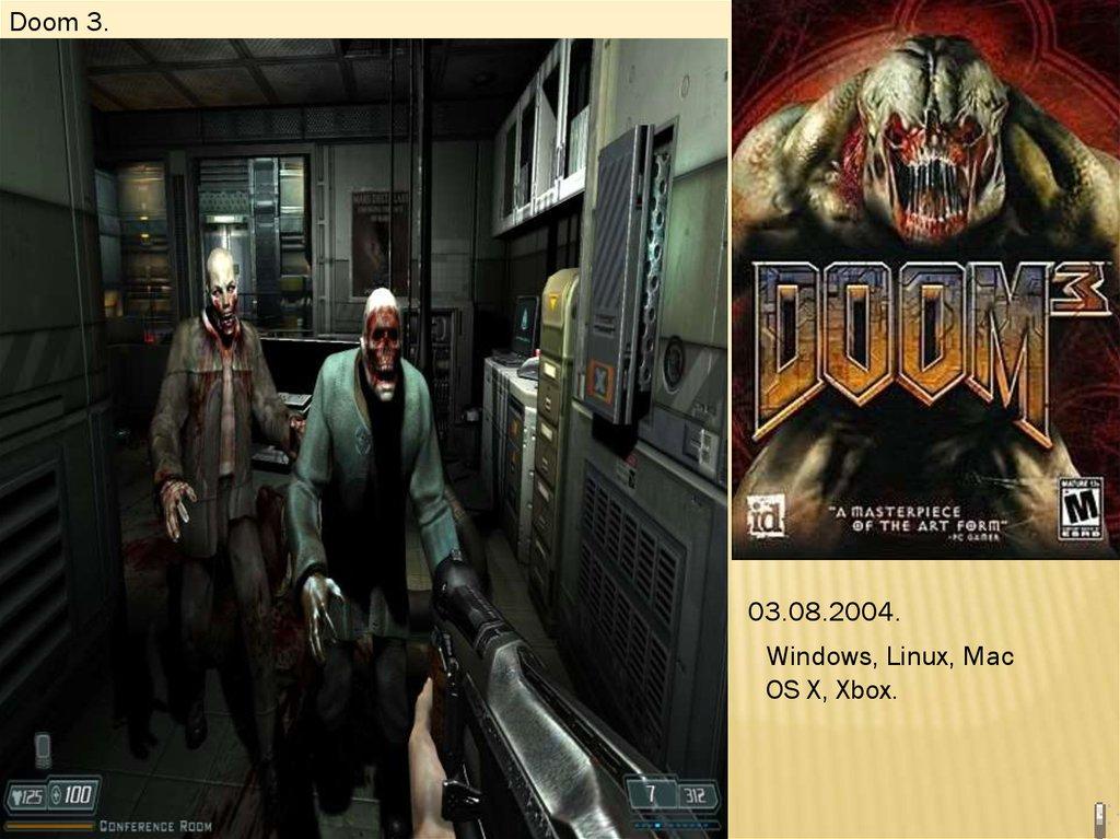 История серии видеоигр: Doom, Rage, Left 4 Dead - online