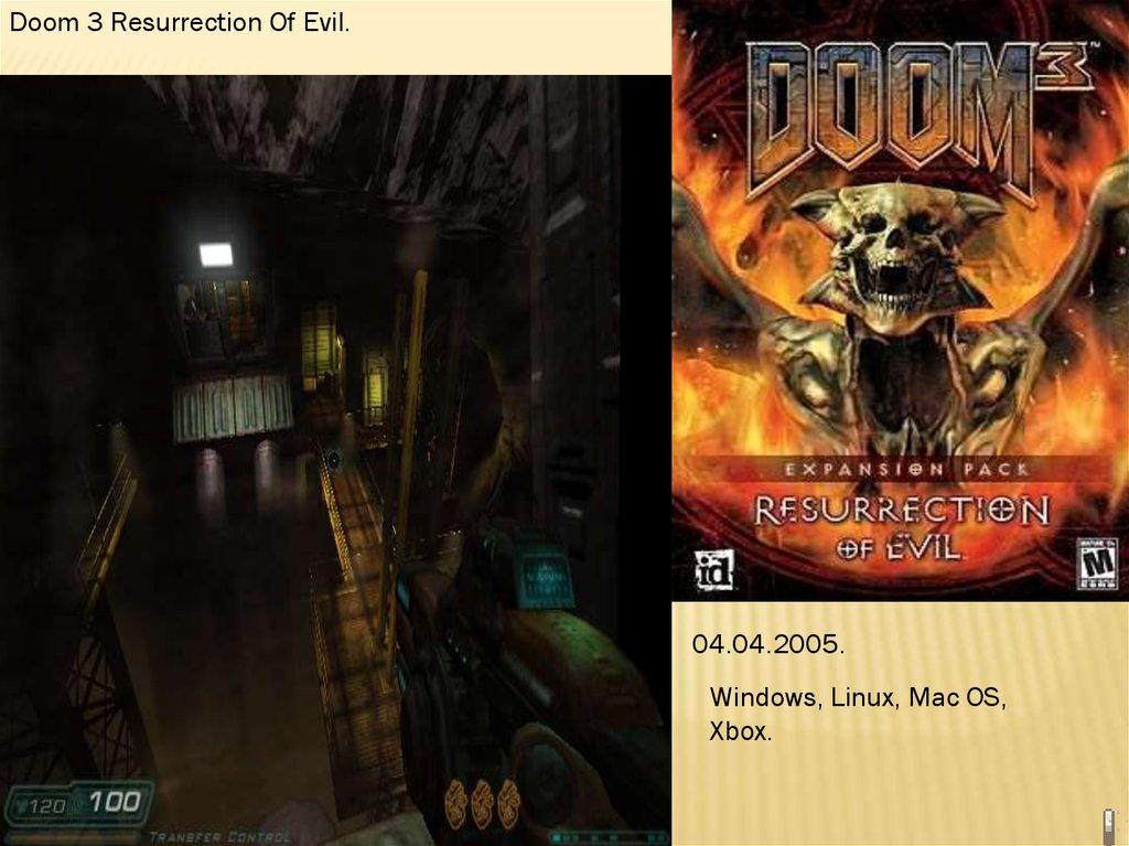 История серии видеоигр: Doom, Rage, Left 4 Dead