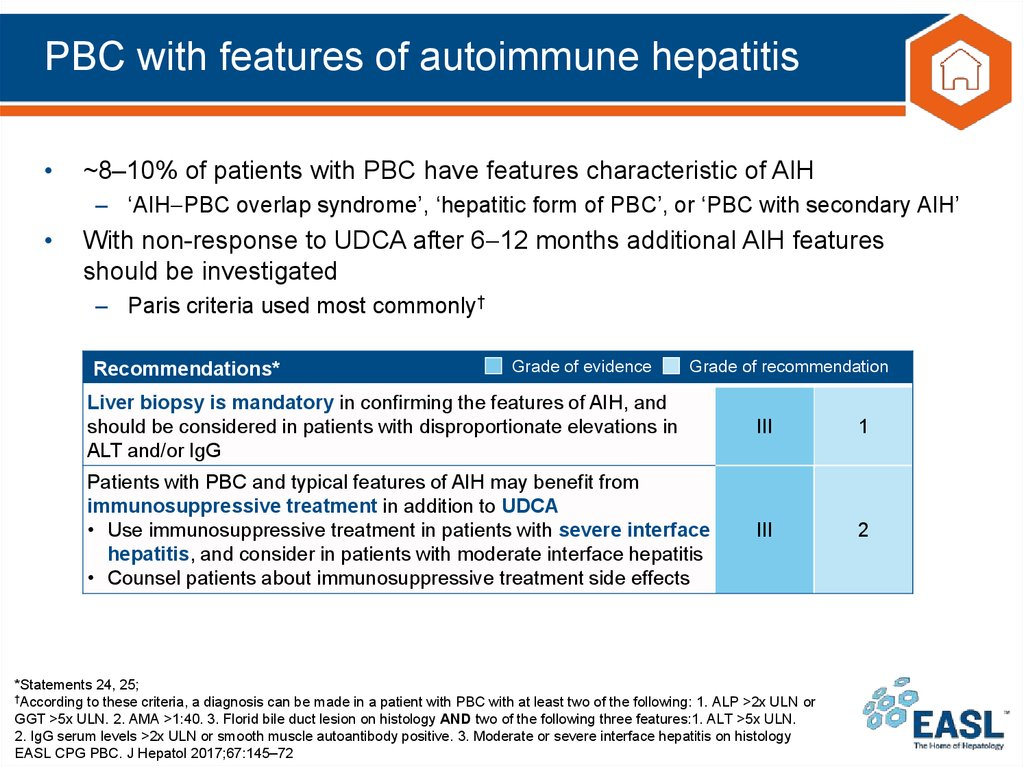 PBC with features of autoimmune hepatitis