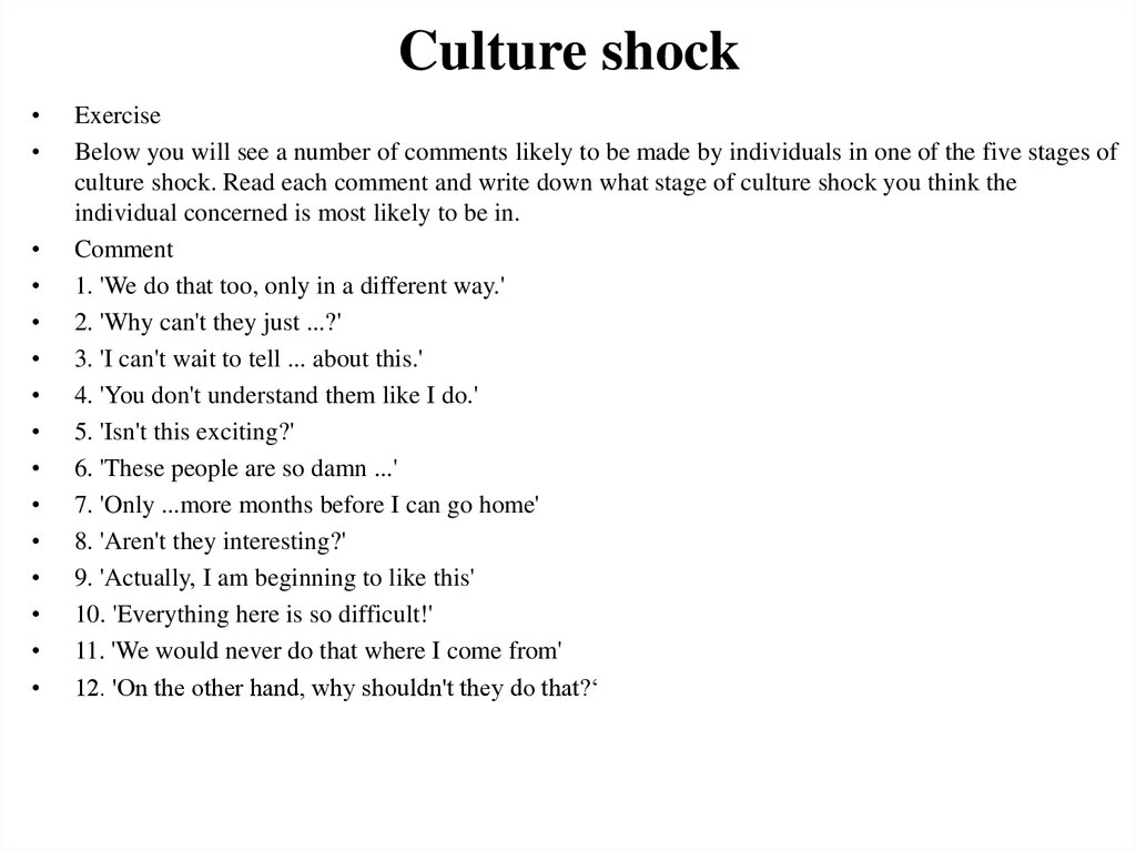 insead essays culture shock Here i discuss insead's essays for january 2014 (class of december 2014) and september 2014 (class of july 2015) in 2011, insead changed the essays for the first time in many years in 2011, insead changed the essays for the first time in many years.