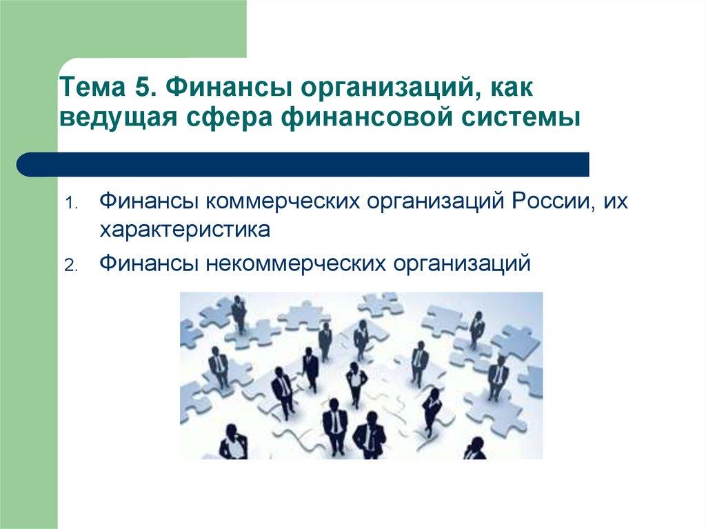1 финансы некоммерческих организаций