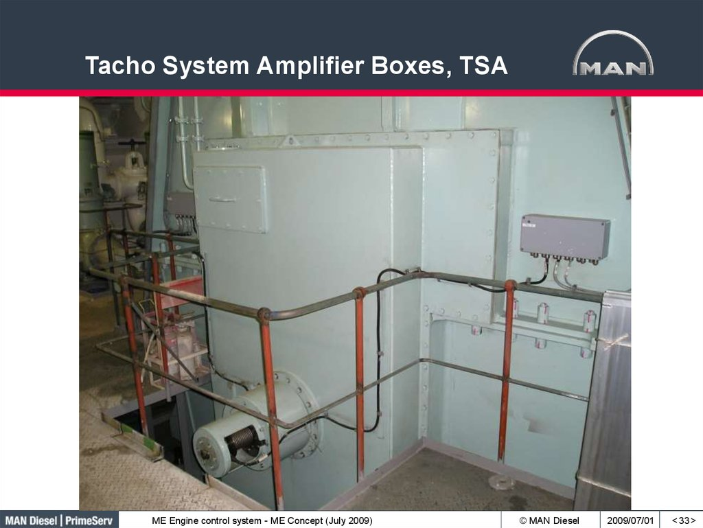 Tacho System Amplifier Boxes, TSA
