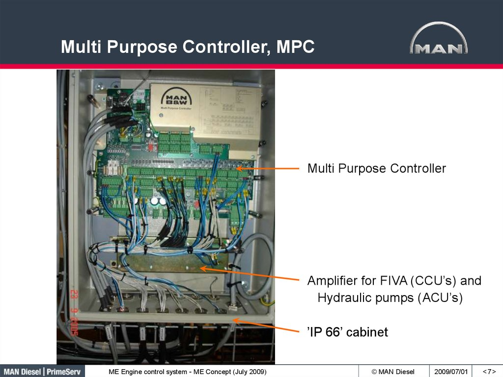 Multi Purpose Controller, MPC