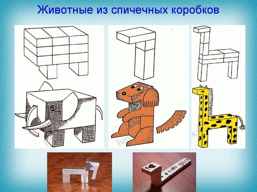 животные из спичечных коробков картинки этих городов
