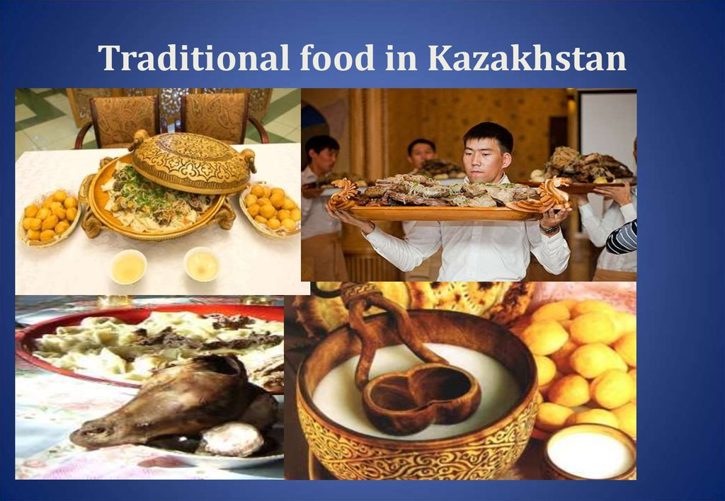Traditional food in Kazakhstan
