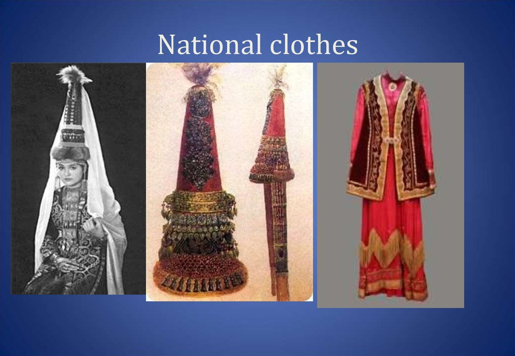National clothes