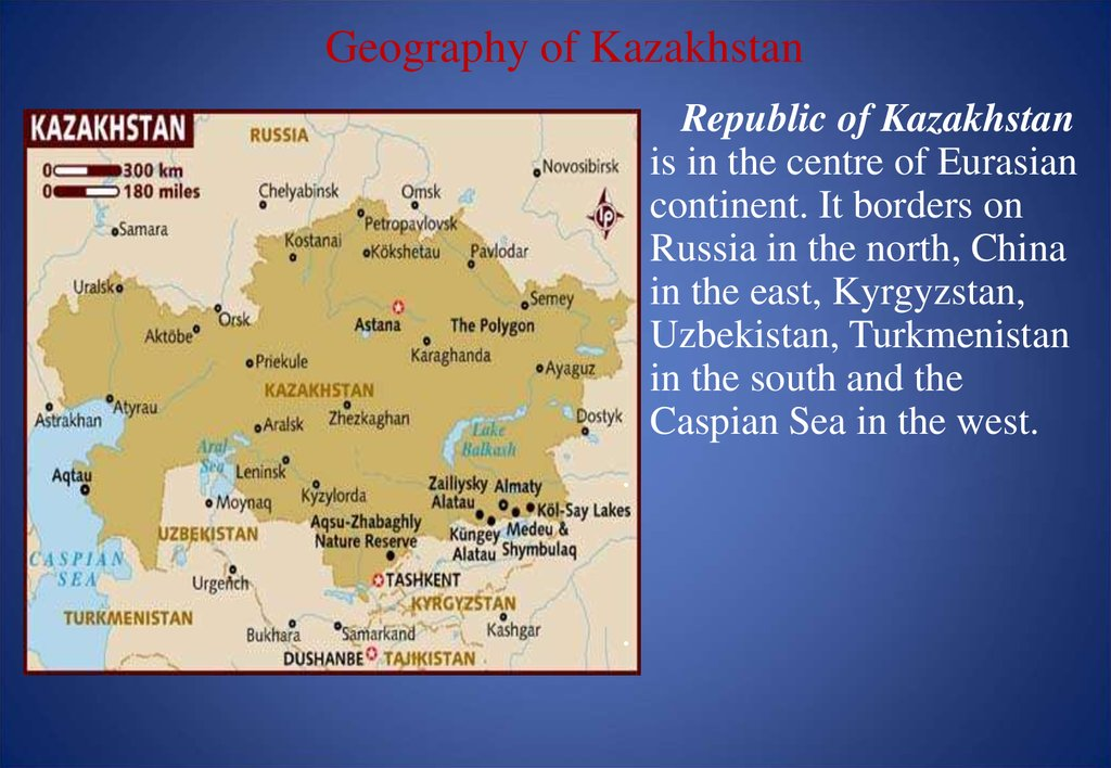 Geography of Kazakhstan