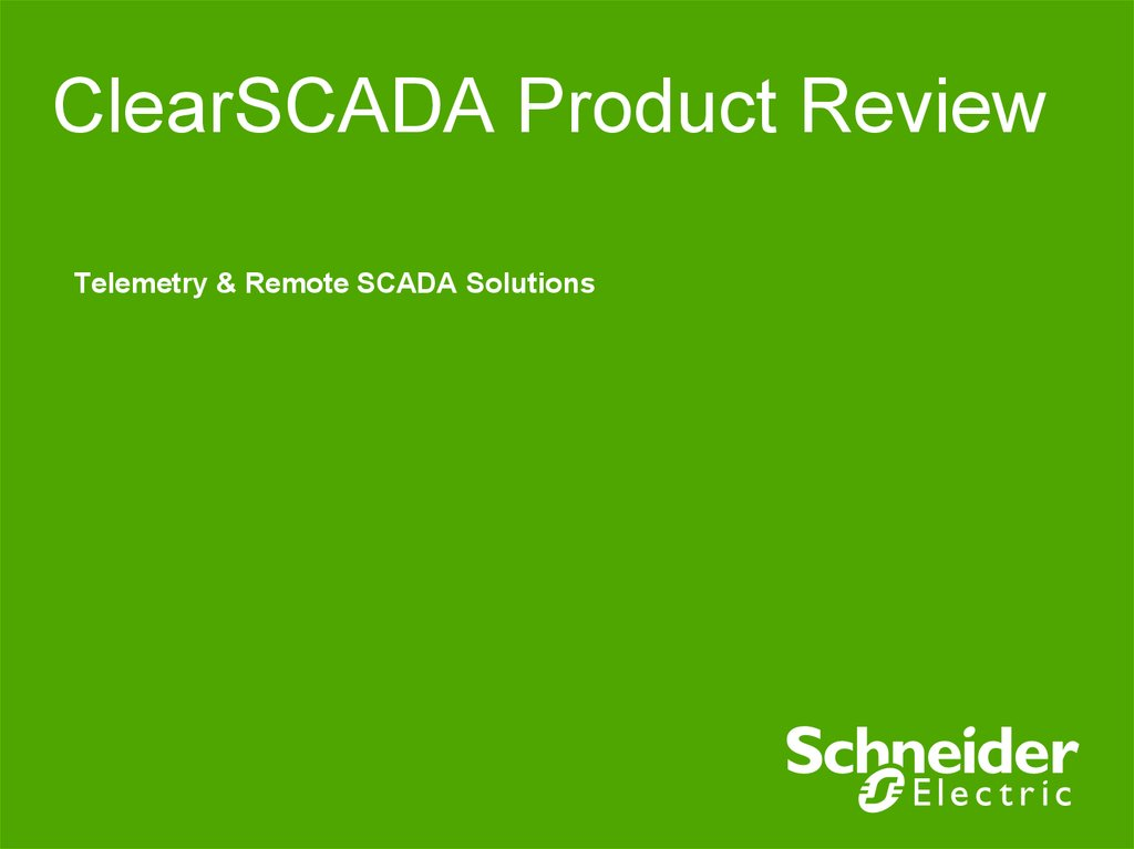 ClearSCADA Product Review