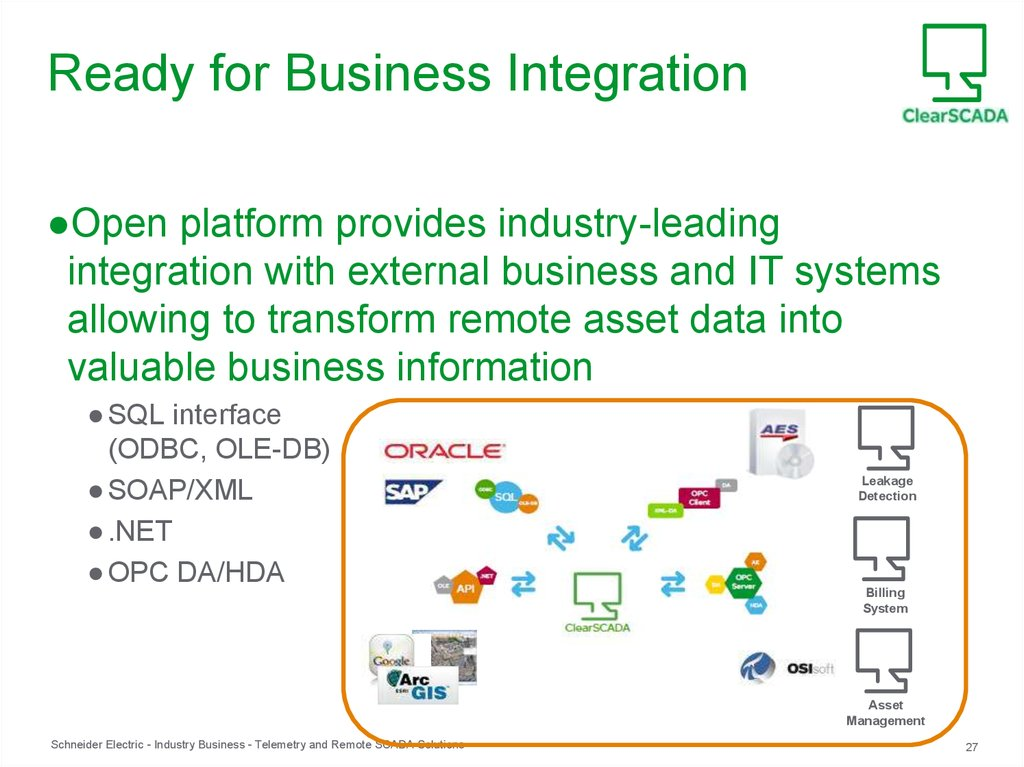 Ready for Business Integration