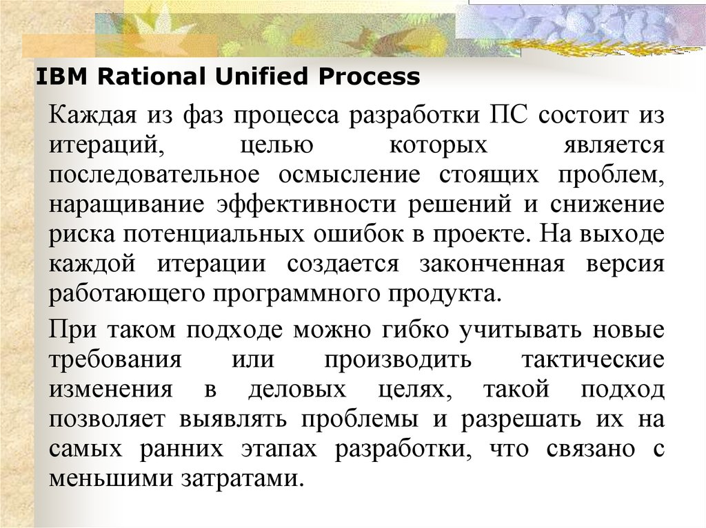 IBM Rational Unified Process